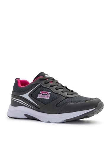 Slazenger Slazenger Zetel Yürüyüş Kadın Ayakkabı  Antrasit